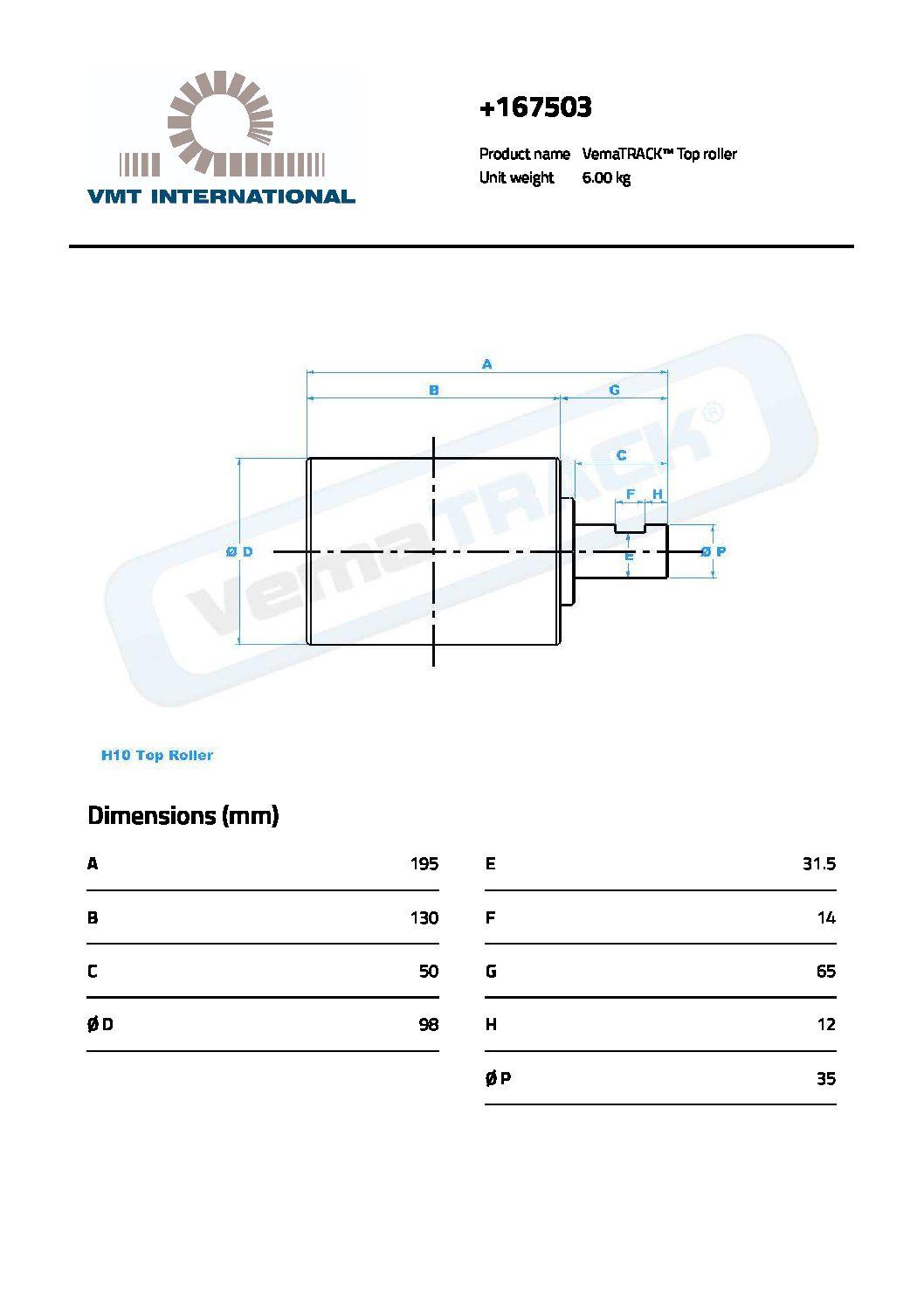 RODILLO SUP TB 175 PDF
